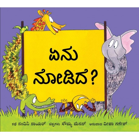 What Did You See?/Enu Nodide? (Kannada)