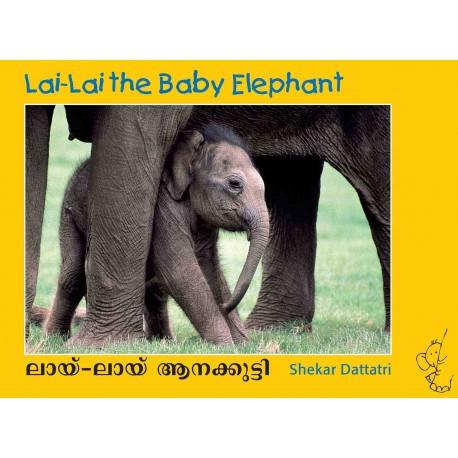 Lai-Lai The Baby Elephant/Lai-Lai Aanakutti (English-Malayalam)