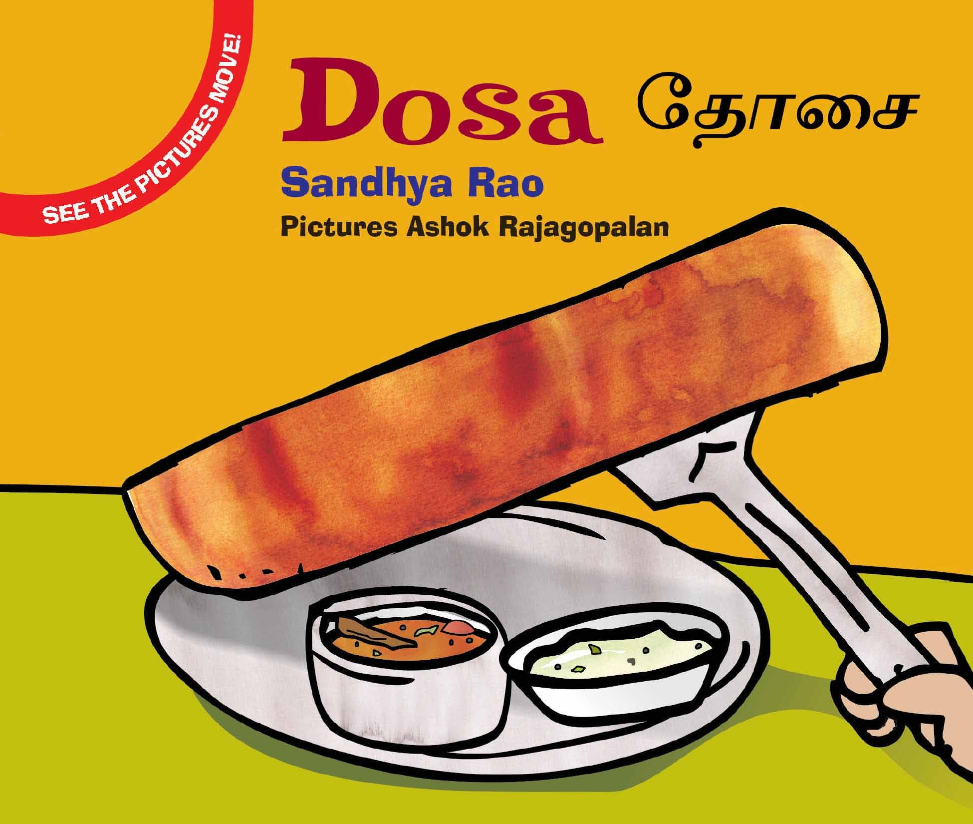 Dosa/Dosai (English-Tamil)
