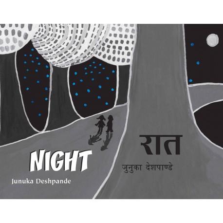 Night/Raat (English-Hindi)