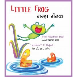 Little Frog/Nanha Mendak (English-Hindi)