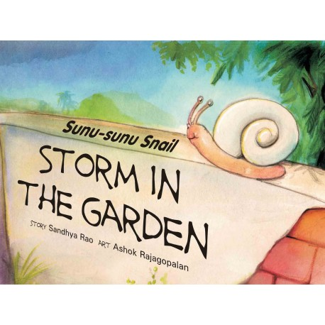 Sunu-sunu Snail: Storm in the Garden (English)