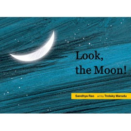 Look, The Moon! (English)