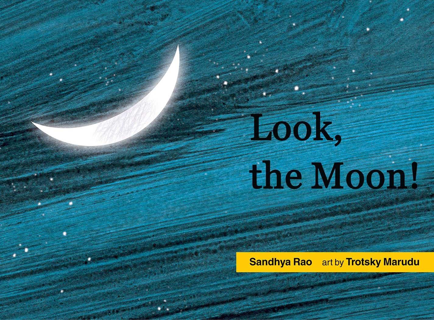 Look, The Moon! (English)