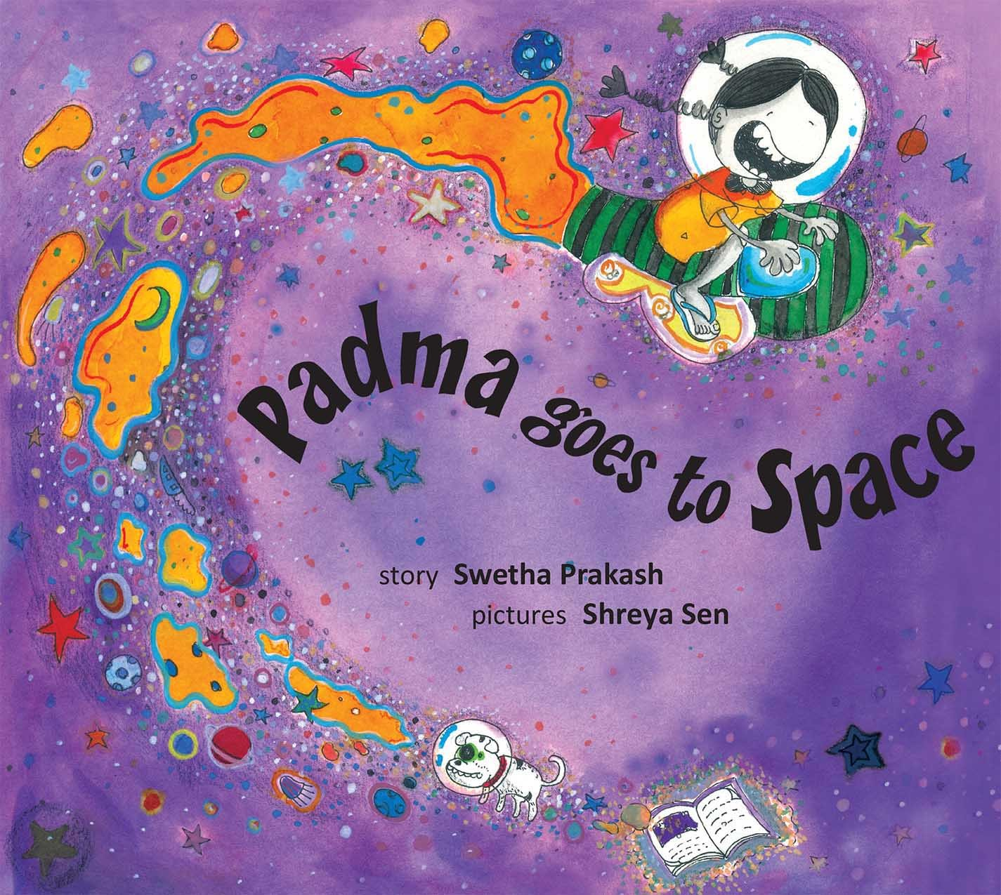 Padma Goes To Space (English)