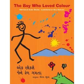 The Boy Who Loved Colour/Ek Chokro Jene Rang Gamta (English-Gujarati)