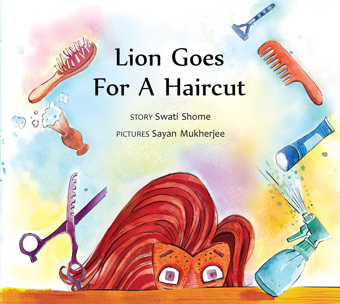 Lion Goes for a Haircut (English)