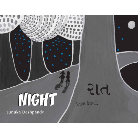 Night/Raat (English-Gujarati)