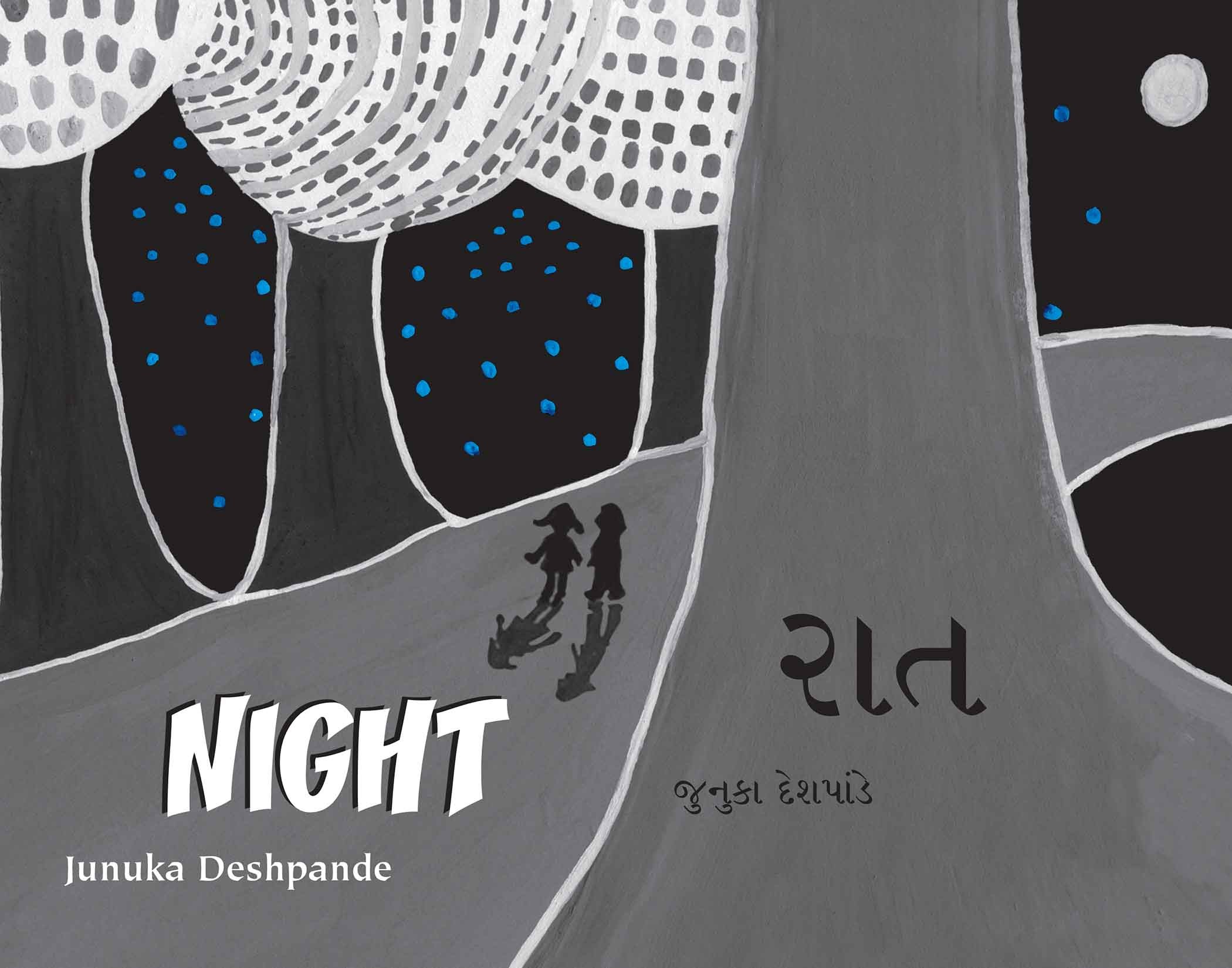Night/Raat (English-Gujarati)