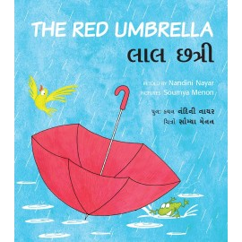The Red Umbrella/Laal Chhatri (English-Gujarati)