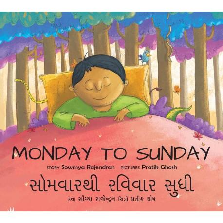 Monday To Sunday/Somvaarthi Ravivaar Sudhi (English-Gujarati)