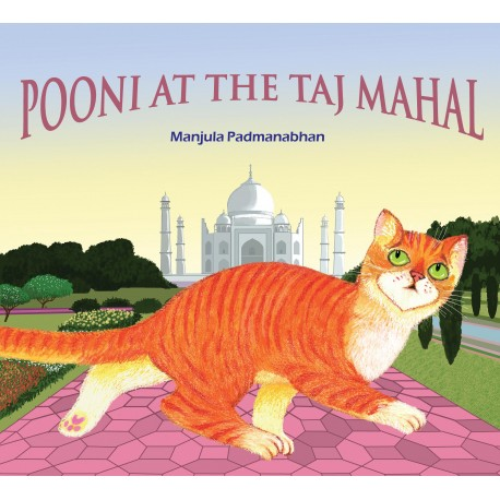 Pooni at the Taj Mahal (English)