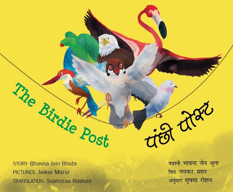 The Birdie Post/Panchhi Post (English-Hindi)