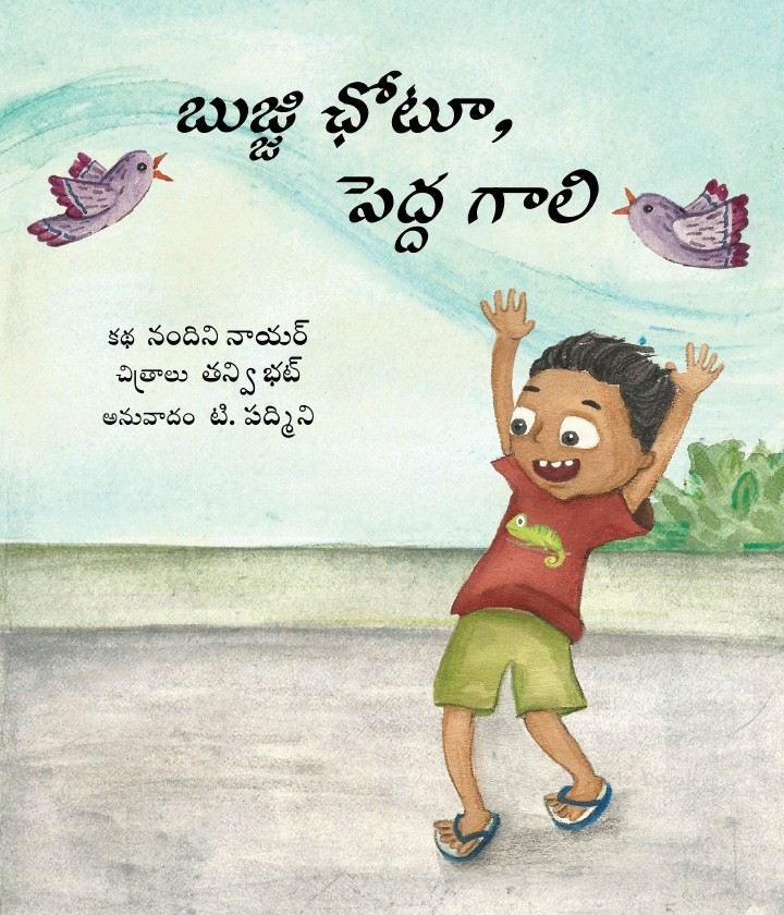 Chhotu and the Big Wind (Telugu)