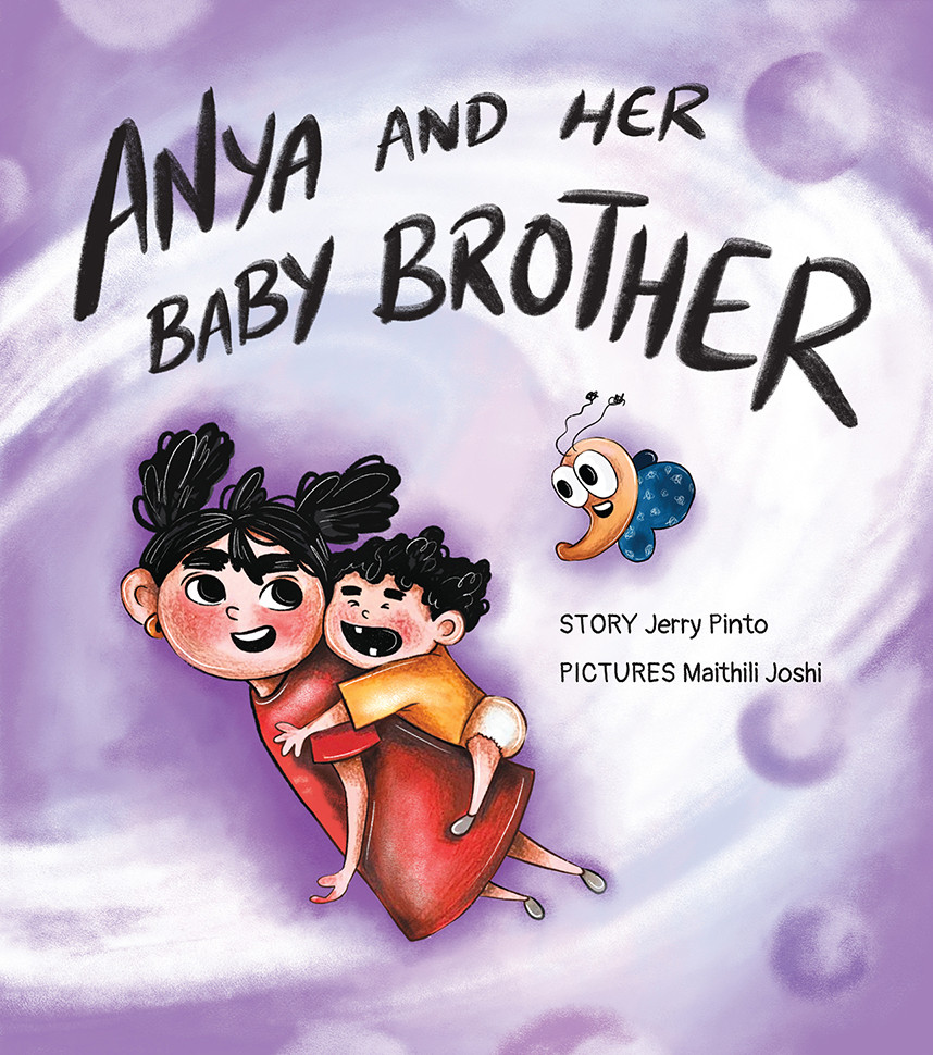 Anya and her Baby Brother
