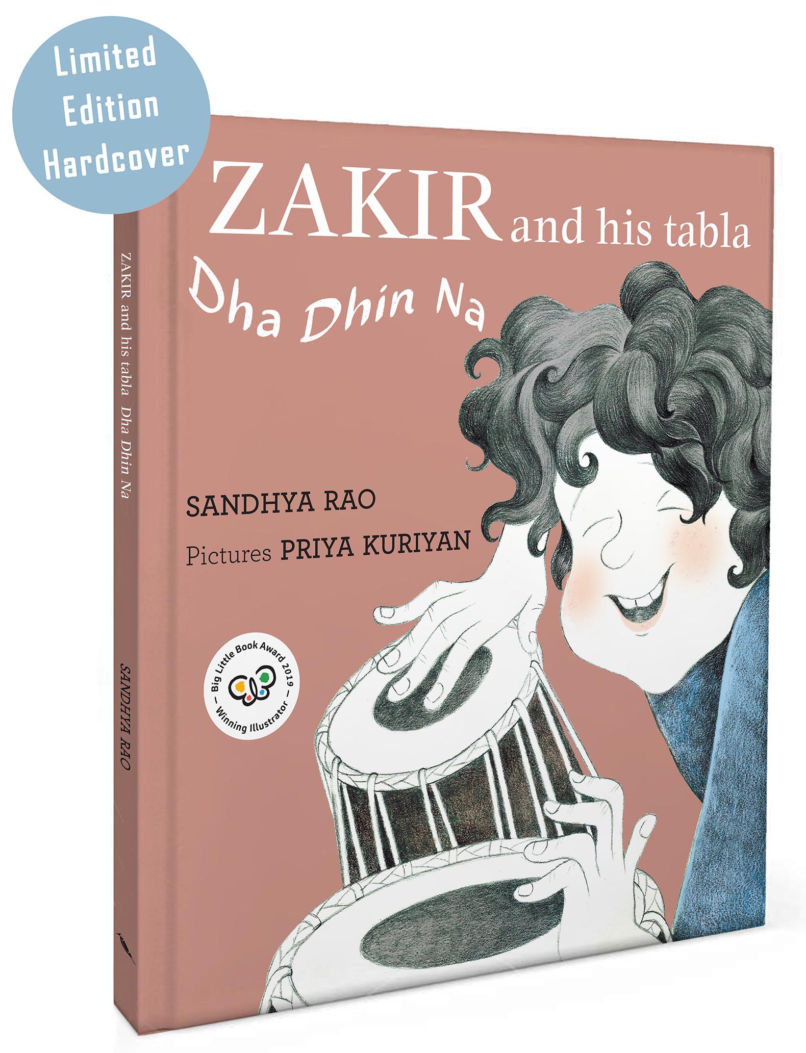 Zakir And His Tabla – Dha Dhin Na - Hardcover(English)