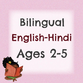Bilingual Pack For 2 to 5 Years (Hindi)