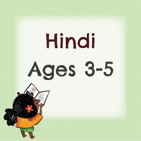 Hindi Pack for 3 to 5 Years