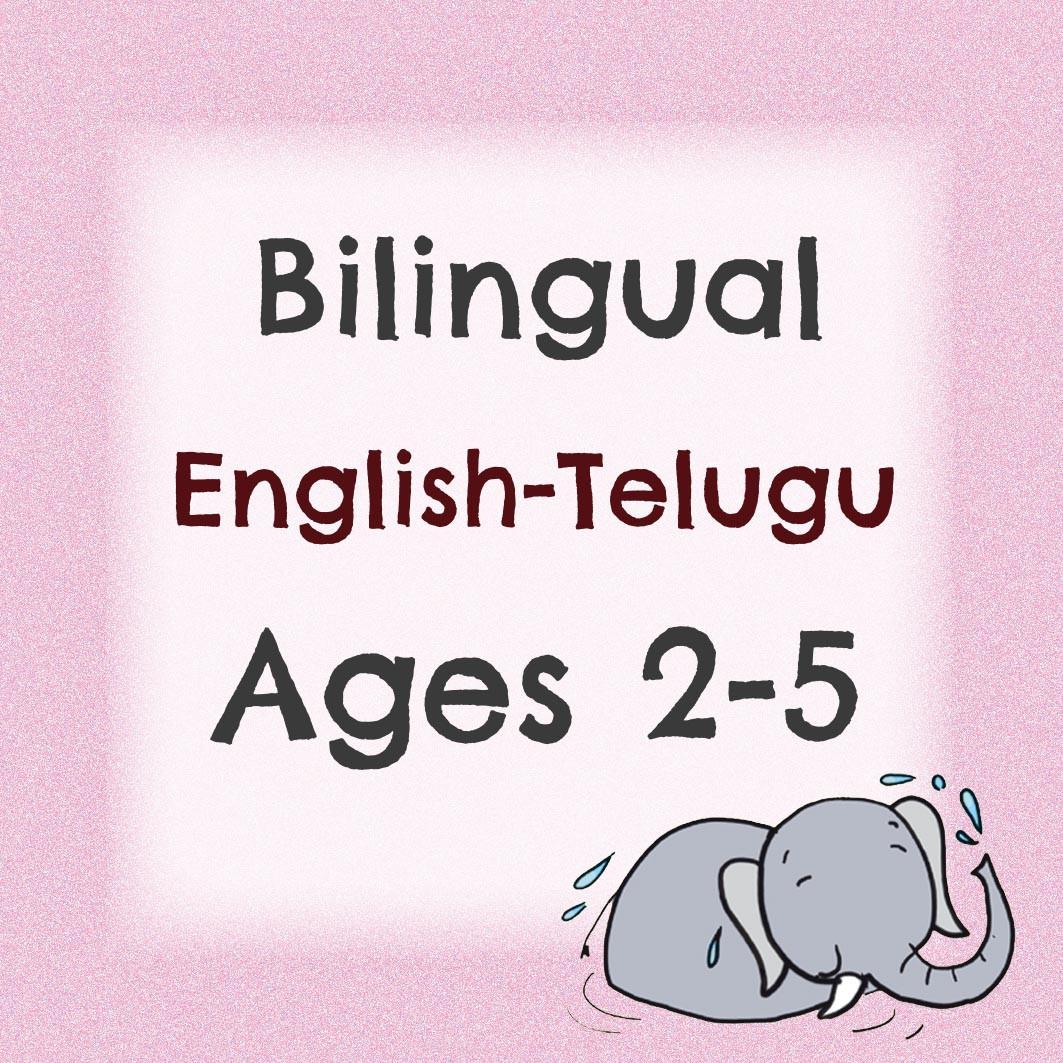 Bilingual Pack For 2 to 5 Years (Telugu)