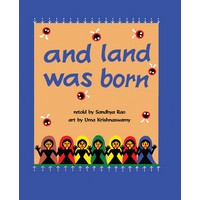 And Land was Born - English - Front Cove