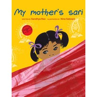 My Mothers Sari - English - Front Cover.